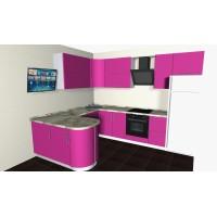 Кухня угловая №7