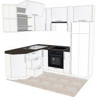 Кухня угловая №12