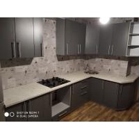 Кухня угловая ЛДСП №17